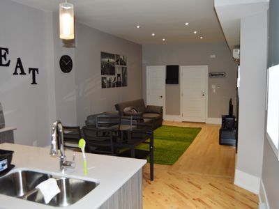 Photo for Le St-Denis - Huge 1 Bedroom apt in Montreal (Plateau)!