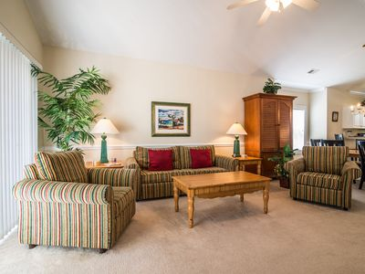 Photo for ASK ABOUT OUR PRICE MATCHING POLICY! Perfect Golf Getaway, Business or Fun! Great Location.