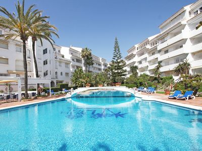 Photo for Magnificent Duplex in 1st line beach in Marbella. Urb. Royal Beach