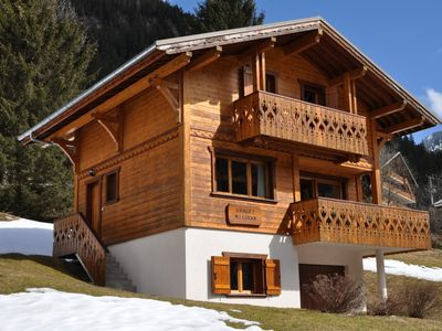 Photo for Chalet Mitoran, comfort chalet ideally located between La Chapelle d'Abondance and Chatel. Easy access