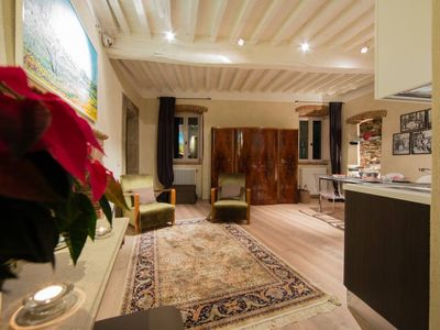 Photo for Apartment in typical house in the historic center of Cortona