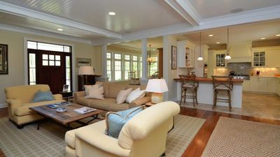 Photo for Luxury Home Steps From Beach And Short Bike Ride To Vineyards