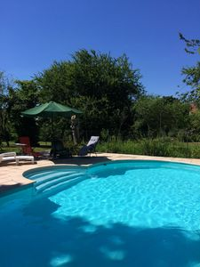 Photo for Farmhouse with cottage,  superb private pool and  gardens for up to ten guests