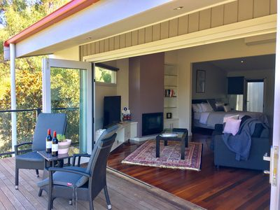 Photo for Araluen Boutique Accommodation - Hilltop Spa Villa 1