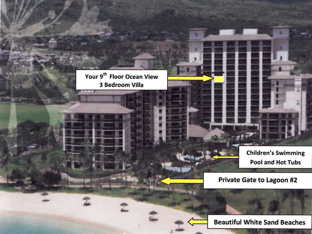 Affordable 3 Bedroom Family Vacation Villa On The 9th Floor Ocean View