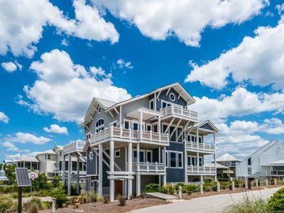 Photo for Mimosa Mornings,Gulf Trace, Spectacular Gulf Views, Private Pool, Elevator, Sleeps 20!