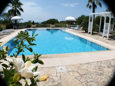 Photo for SALENTO: PANORAMIC VILLA WITH POOL. TORRE S. GIOVANNI. UGENTO