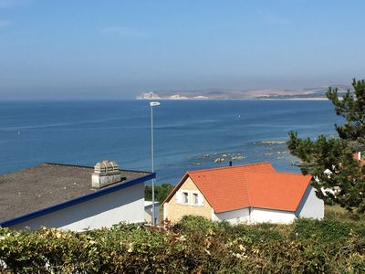Photo for NEW: Villa Gris Nez, exceptional sea view, sauna, Jacuzzi, ...