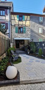 """Photo for Holiday home """"GITE & JARDIN LE COQ ROUGE"""" centrally located"""