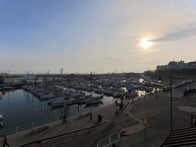 Photo for Harbour View Two bedroom, two bathroom apartment over looking the Royal Harbour