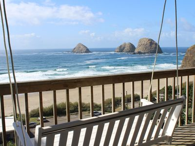 Photo for Large Ocean View Home with Guest Quarters Close to the Beach Four Large Decks