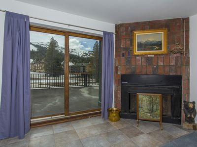 Photo for Best location for ski-in/ski-out! Large deck right next to the ski lifts WT110