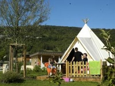 Photo for Camping La Roche d'Ully **** - Trapper Lodge 3 Rooms 4 People Without Bathroom
