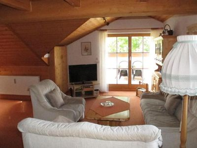 Photo for Holiday apartment Haidmühle for 2 - 6 persons with 2 bedrooms - Penthouse holiday apartment