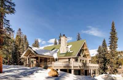 Photo for Beautiful Custom Log Cabin with Mountain Views and Stream Location just 25 minutes from Breckenridge