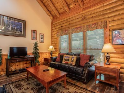 Photo for NEW! Great Wolf Cabin in Pigeon Forge!