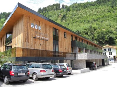 Photo for Luxurious apartment with balcony and wellness centre directly adjacent to the gondola in Neukirchen.