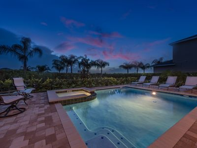 Photo for Luxury 6 Bedrooms Villa near Disney at Encore Club. Water park included in quote