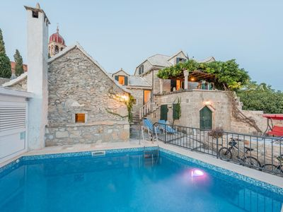 Photo for Holiday house with a swimming pool Donji Humac (Brač) - 11359