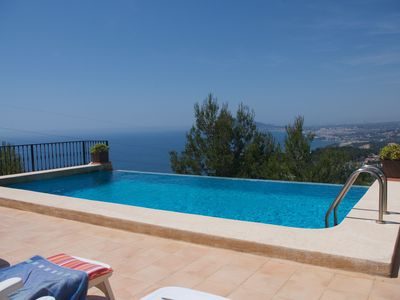 Photo for Beautiful Villa with views of the Bay of Altea and the mountain of Alicante