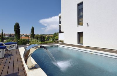 Photo for Luxurious villa with private pool, 4 bedrooms, 4 bathrooms, air conditioning, WiFi, terrace, barbecue, whirlpool and only 200 meters to the beach