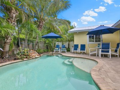 Photo for Windshore A! - 2 Minute Walk  to Beach, Private Heated Pool, WIFI