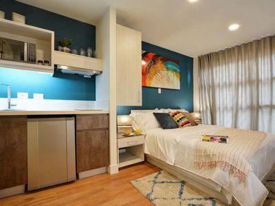 Photo for Colorful Modern Studio in Exciting Neighborhood