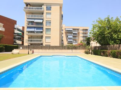 Photo for ROURA with communal pool, beach at 100m