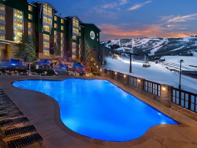 Photo for Marriott MountainSide - On Park City ski slopes-close to Sundance Film Fest