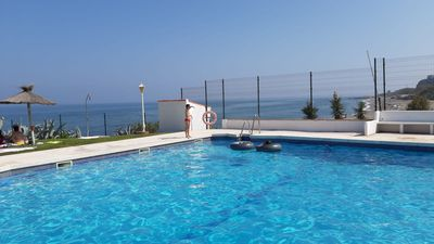 Photo for Beach House With Lovely Sea Views Playa Paraiso