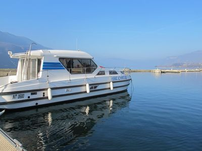 Photo for PENICHETTE HABITABLE ANY COMFORT quai- LAKE BOURGET - Savoie