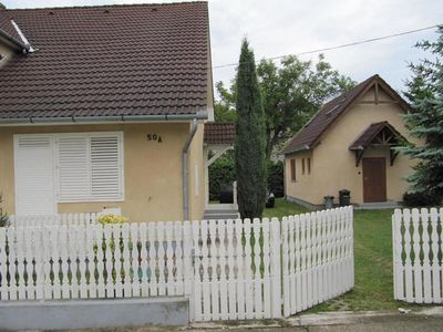 Photo for Holiday apartment Balatonkeresztúr for 4 - 5 persons with 2 bedrooms - Holiday apartment in one or m