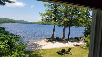 Photo for Private sandy beach, clean peaceful lake, 35 minutes to downtown Portland