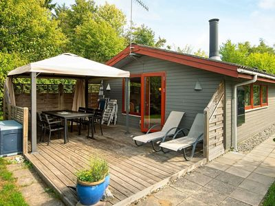 Photo for Cozy Holiday Home in Ebeltoft with Terrace