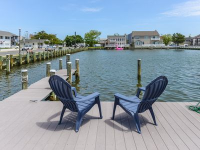 Photo for Beautiful Waterfront Townhouse with Boat Slip