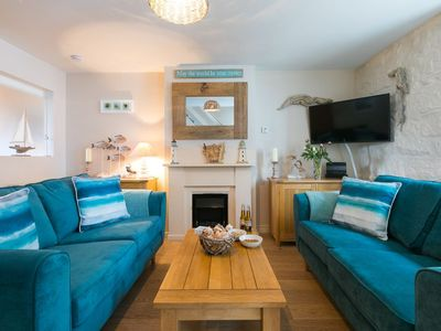 Photo for Oyster Cottage, Central St Ives - Sleeps 4 - Pet Friendly