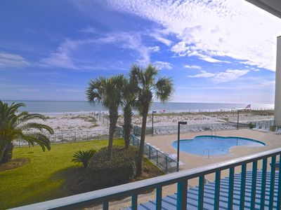 Photo for Awesome Beach Front, Beautiful Sunsets, Toes In the Sand Beach/Pool Now Open.