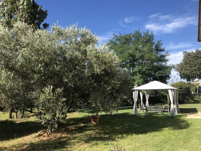 Photo for Cottage near the Camargue, large fenced garden and pets allowed
