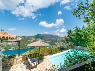 Photo for Arriva villas, charming, traditional stone villas overlooking Sivota and beyond!