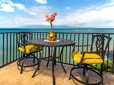 Photo for NEW LISTING! Oceanfront condo w/shared pool, stunning views, shopping & dining