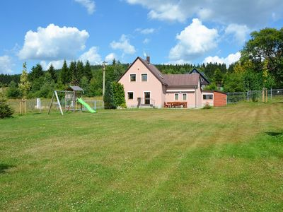 Photo for Beautiful holiday home in the Erzgebirge / sea level 900 m / with large, well-kept garden