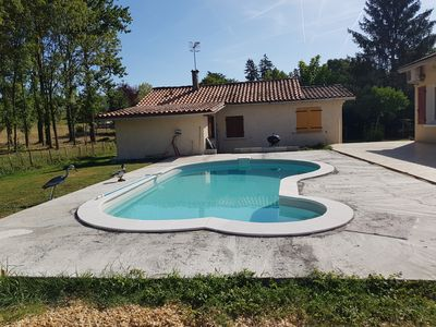 Photo for beautiful cottage with pool
