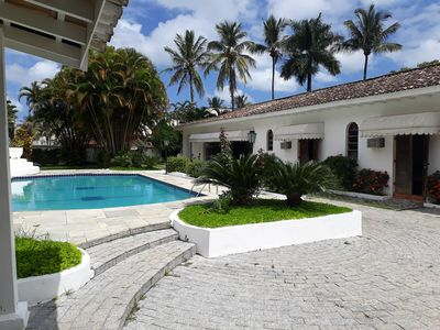 Photo for Excellent house 80 meters from Enseada beach **