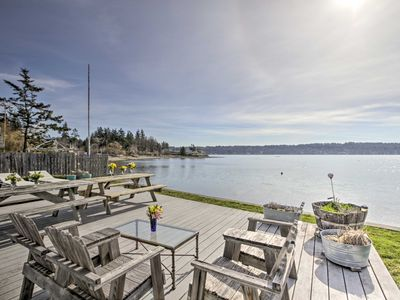 Photo for NEW! Belfair Cabin w/ Deck+Fire Pit on Puget Sound