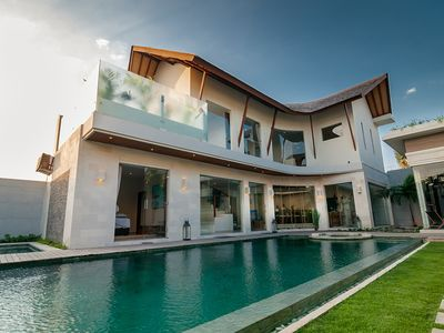 Photo for Spacious Modern Luxury 4 Bedroom Villa, Seminyak