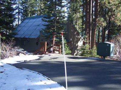 Photo for Large multi level home nesteled in the trees, located in Tahoe Donner.