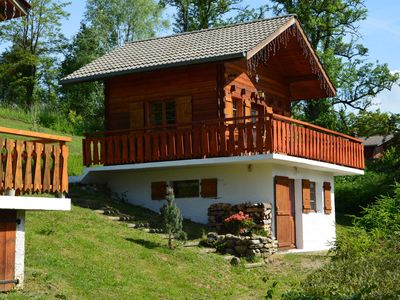 Photo for Individual chalet 4-6 pers. Green Valley Haute-Savoie private garden 600 m2