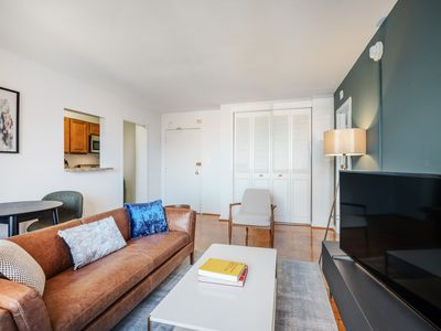 Photo for Roomy Logan Circle 1BR nr. 14th Street & Metro, by Blueground