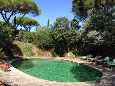 Photo for typical Provencal villa with pool and garden