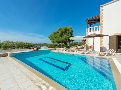 Photo for Villa Pefki near Pefkos/Lindos - private pool, sea view & enclosed garden